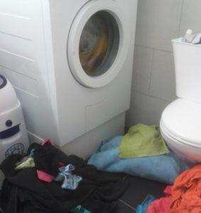 Ein wenig Wäsche...