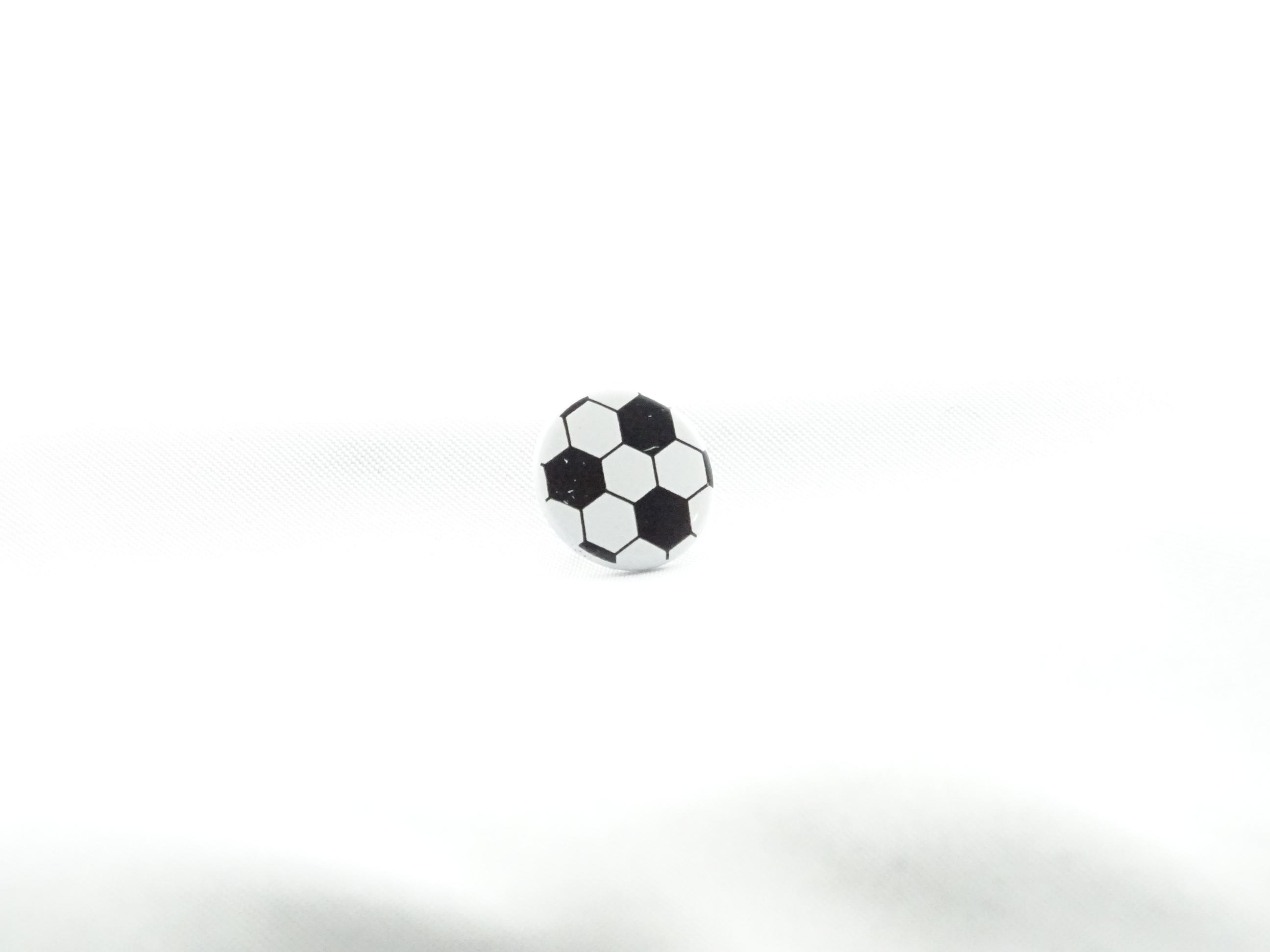 Fussball Druckknopf für kleine und grosse Kicker.