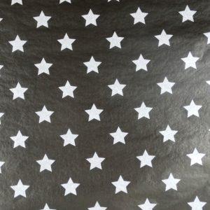 Seidenpapier stars blk